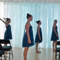 SEPTEMBER 2014 — GD&PAA DANCERS PERFORMING FOR VERNON COMMUNITY ARTS CENTER