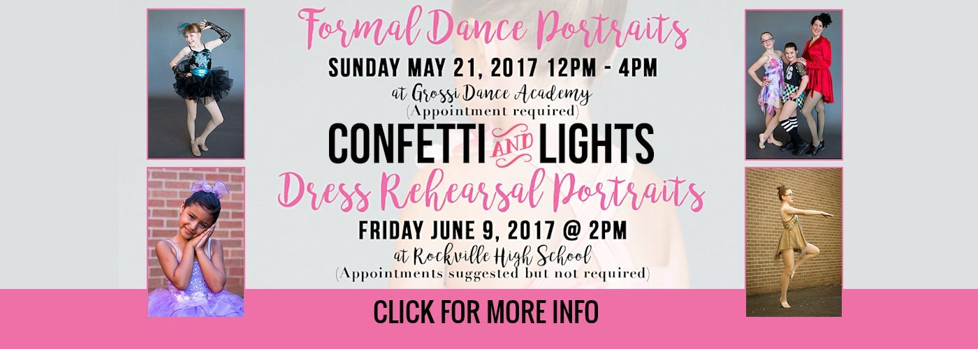 Confetti & Lights Photography Formal Dance Portraits