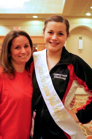 Miss Courtney Witham Named NADAA Greater New England Youth Representative