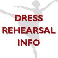 2017 SHOWCASE DRESS REHEARSAL INFORMATION