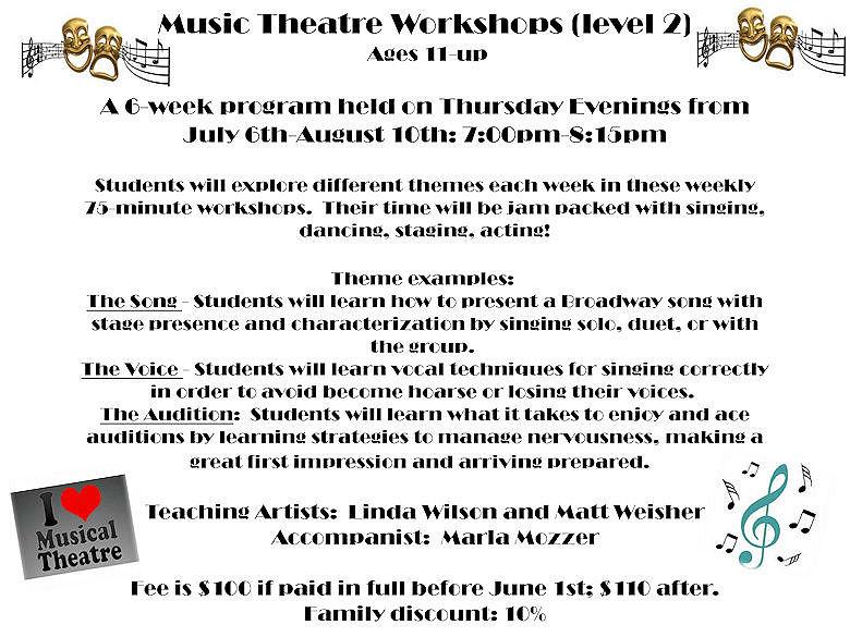 GD&PAA Summer Class - Musical Theatre 2