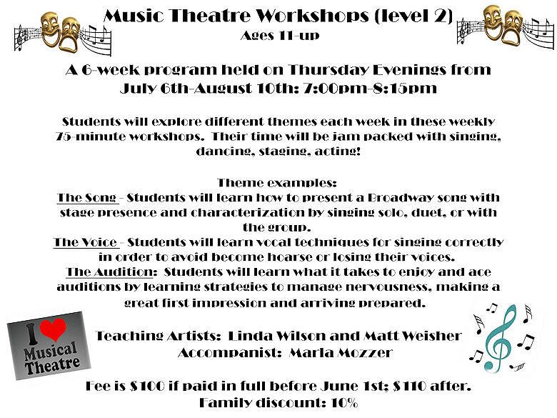 GD&PAA Summer Class - Musical Theatre 2