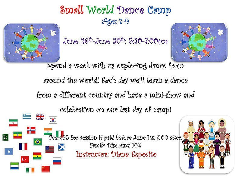 GD&PAA Summer Class - Small World Dance Camp