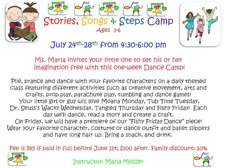 GD&PAA Summer Class - Stories, Songs & Steps