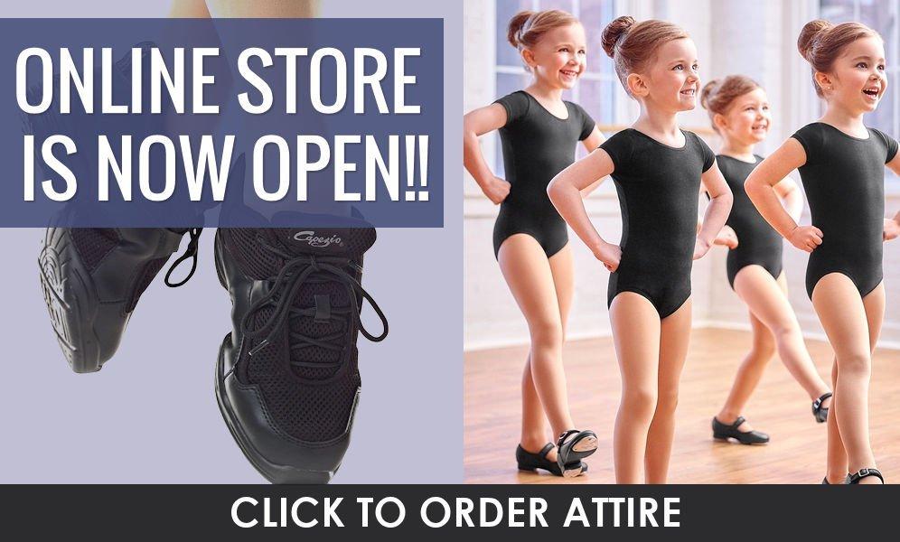 Link to order dance attire online!