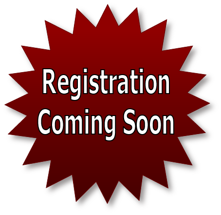 AUGUST 2017 NEWS – REGISTRATION UPCOMING!