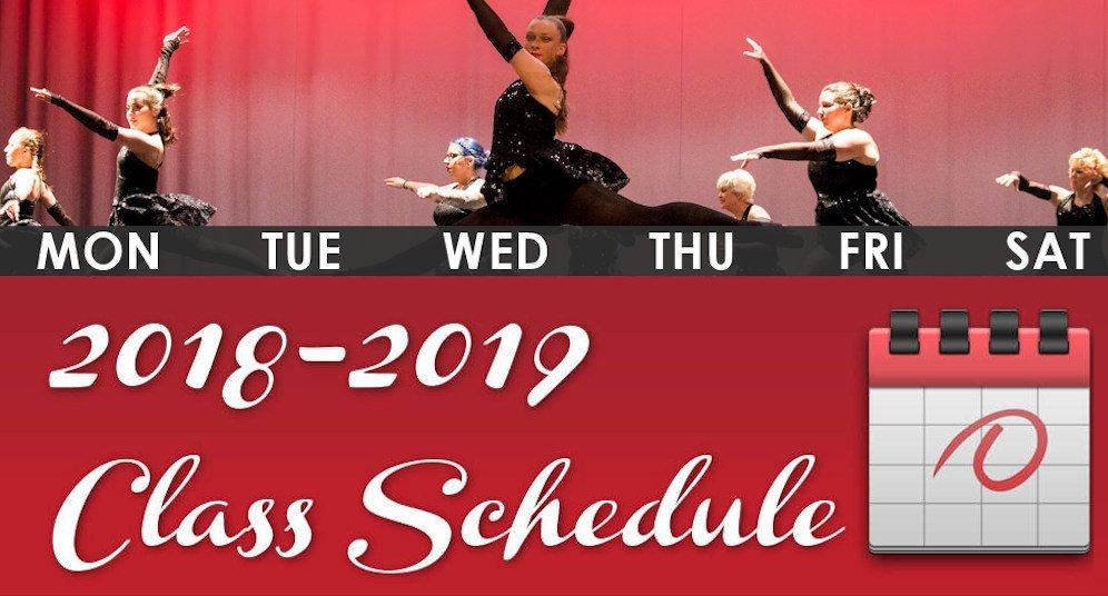 2018-2019 GD&PAA Class Schedule