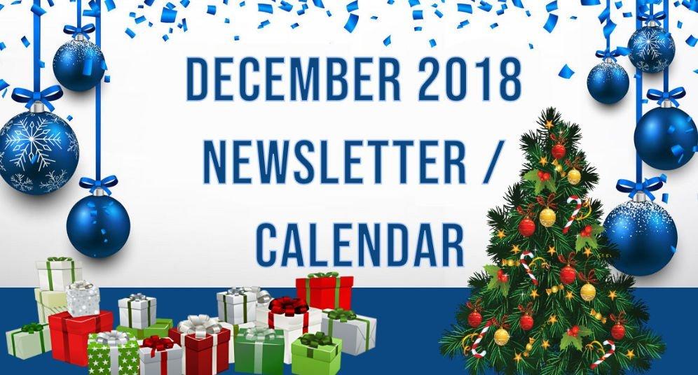 December 2018 GD&PAA Newsletter / Calendar