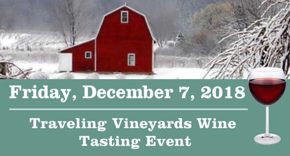 December 7, 2018 GD&PAA Wine Tasting Event