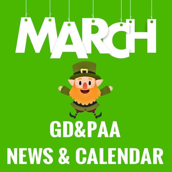 MARCH 2019 CALENDAR / NEWSLETTER