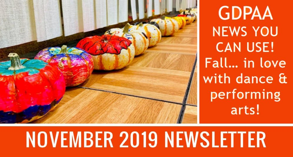 November 2019 GD&PAA Newsletter