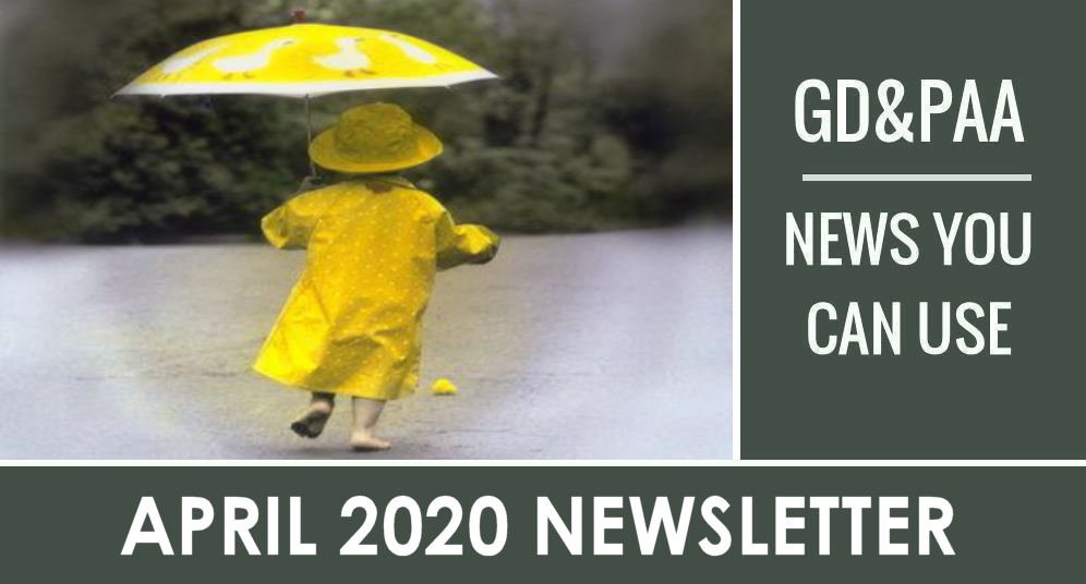 Click for April 2020 GD&PAA Newsletter