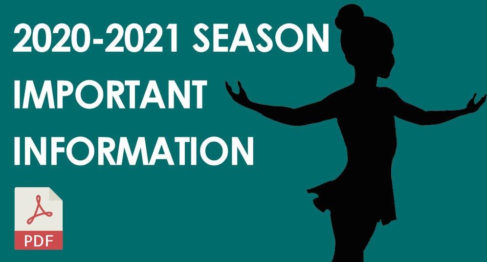 GD&PAA 2020-2021 Season Important Information
