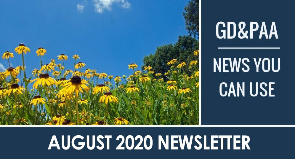 Click for August 2020 GD&PAA Newsletter