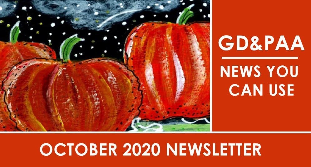 Click for the October 2020 GD&PAA Newsletter