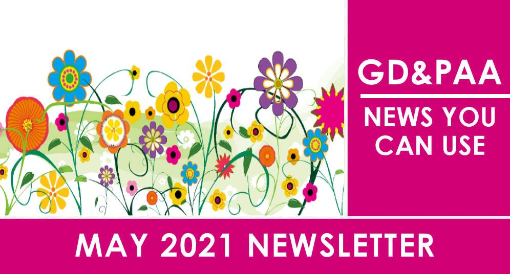 Click for the May 2021 GD&PAA Newsletter