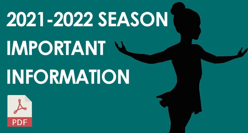 GD&PAA 2021-2022 Season Important Information